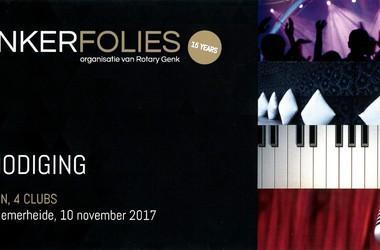 15e editie Genkerfolies, 10 november 2017