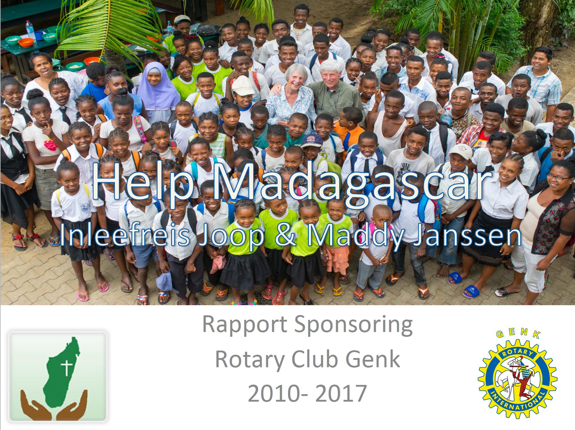 Powerpoint bezoek Joop Madagascar