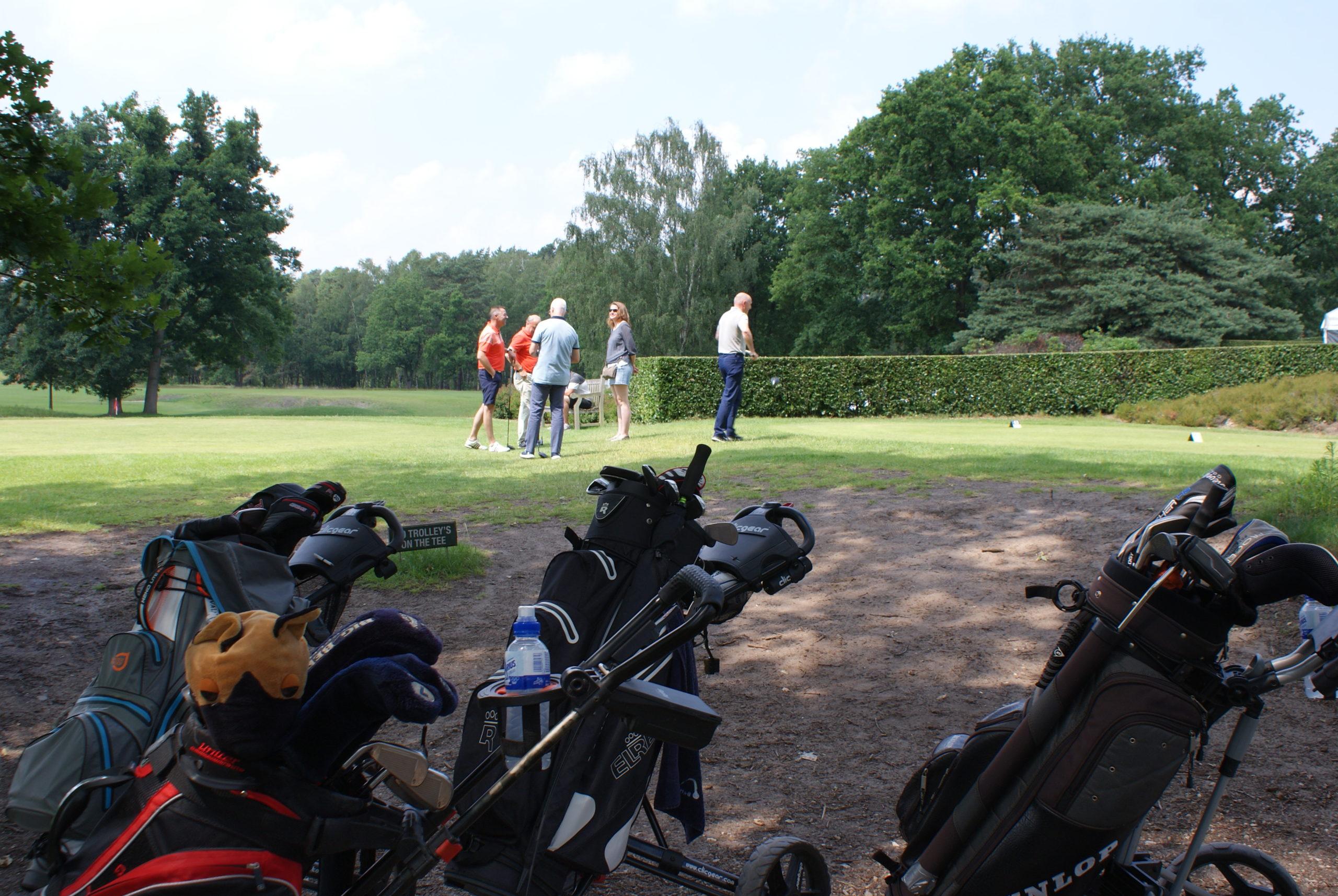 Jaarlijkse golfcup Rotary club Genk