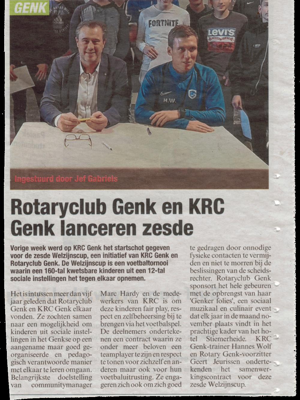 Lancering zesde editie Welzijnscup